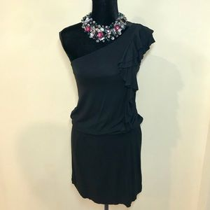 One Shoulder Little Black Dress!